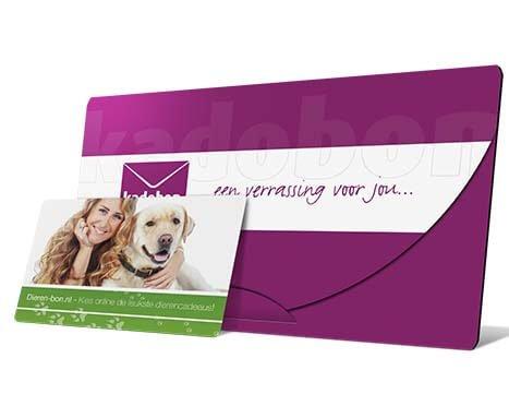dieren cadeaubon per post