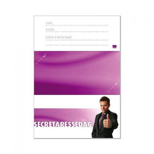 secretaressedag envelop