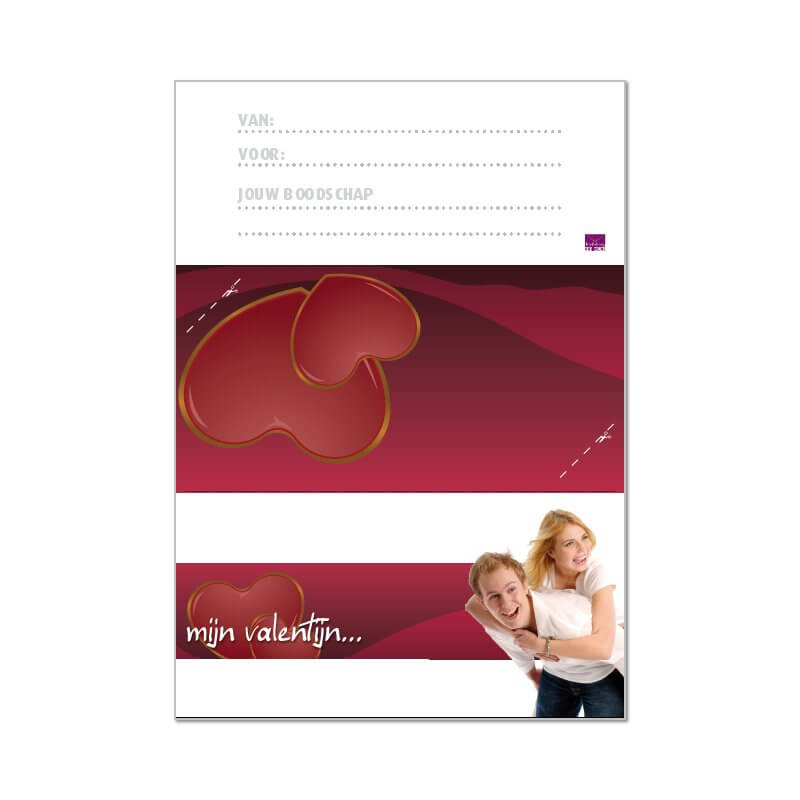 Valentijns envelop